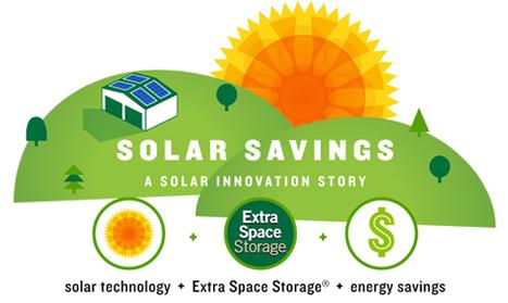 Solar Powered Energy Efficient Storage | green infographics | Scoop.it