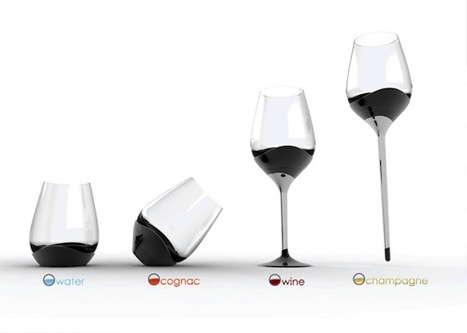 One Glass for Every Drink | Sven Milicent + Utopik Design Lab. | Art, Design & Technology | Scoop.it