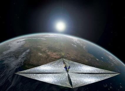 Aparato impulsado con energía solar irá al espacio en 2016 | AstroNoticias NS | Scoop.it