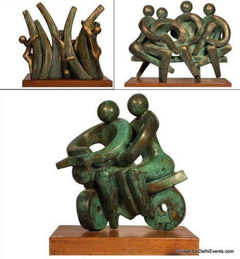 "Delhi Events: ""Joy of Life"" Exhibition of Metal Sculptures by Saroj ... | Metal Art | Scoop.it"