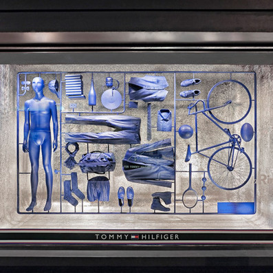 Model-kit window installation by Fabio Novembre for Tommy Hilfiger | Things I Like | Scoop.it