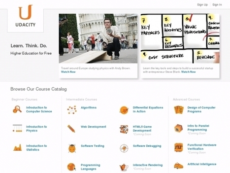 Online Learning: Udacity and Coursera Comparison | Easy MOOC | Scoop.it