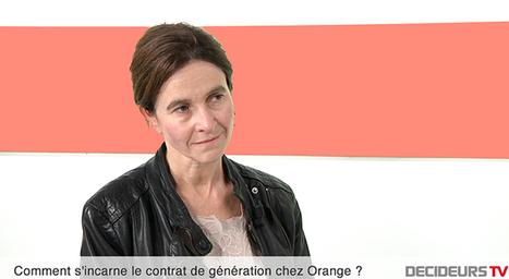 Christine Lanoë, DRH Orange France : Nous recruterons 4 000 personnes sur les trois prochaines années ! | Emploi | Scoop.it