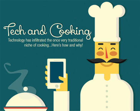 Tech and Cooking [INFOGRAPHIC] | Infographics by Infographic Plaza | Scoop.it
