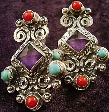 The Revival Earring Set | Taxco.925 Mexican Silver Store | Scoop.it