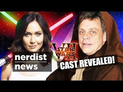 STAR WARS 7 Official Cast Revealed & More! (Nerdist News w/ Jessica Chobot) | Staged | Scoop.it