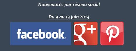 Récapitulatif des dernières fonctionnalités par réseau social : du 9 au 13 juin 2014 - Clément Pellerin - Community Manager Freelance & Formation réseaux sociaux | Facebook | Scoop.it