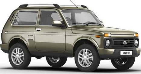 Lada 4×4 Urban Official Photos | Best Car In The World | Scoop.it