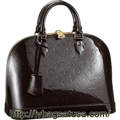 Louis Vuitton Alma Monogram Vernis M91444   Loui Vuitton Outlet Online 70% Off,Free Shipping   Scoop.it