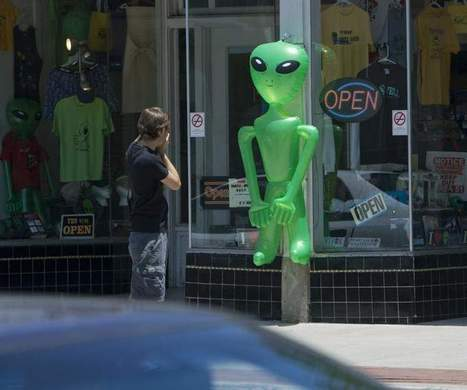 That's odd: New UFO website allows users to post 'sightings' - Press & Sun-Bulletin | In Today's News of the Weird | Scoop.it