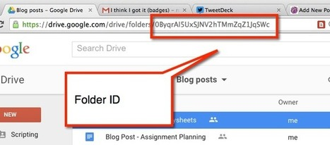 PDF my Google Drive Folder ^ Teacher Tech ^ by Alice Keeler | On education | Scoop.it