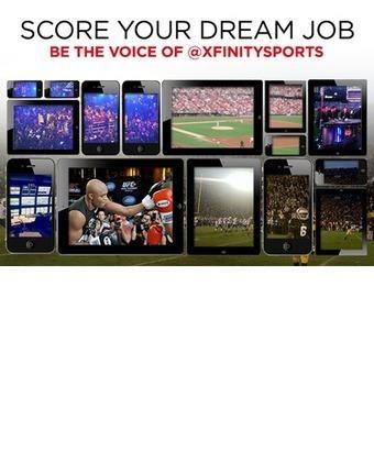 XFINITY: Win the Ultimate Sports Social Media Job - The Slipper Still ... | Sports 101 | Scoop.it