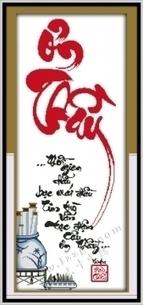 Tranh thêu chữ thập – quà tặng ý nghĩa tri ân các thầy cô 20-11 | Đồ Handmade - Qùa tặng sáng tạo | Scoop.it