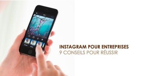 Instagram pour entreprise : 9 conseils pour réussir - ASSURBUZZ | Business et réseaux sociaux | Scoop.it