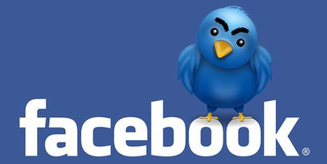Est-ce une bonne idée de connecter Twitter et Facebook ? | Méli-mélo de Melodie68 | Scoop.it