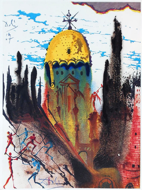 Salvador Dalí's rare 1975 illustrations for Romeo & Juliet | school life | Scoop.it