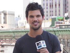 Taylor Lautner Flaunts New Tats And Parkour Skills On 'Tracers' Set: Watch! - MTV.com | Tattoos | Scoop.it