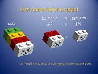 Trabajamos las fracciones con piezas de LEGO | RED.ED.TIC | Scoop.it