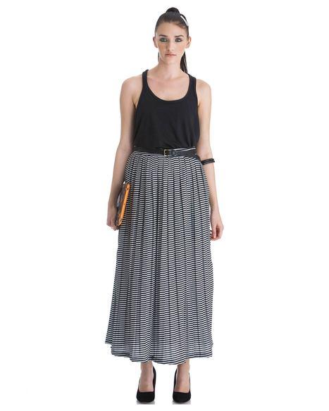 Lined Love Skirt by Stylista   Stylista   Scoop.it