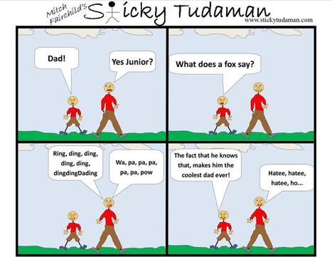 Sticky Tudaman: What Does The Fox Say | Political Humor | Scoop.it