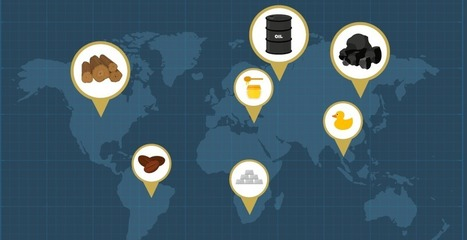 Infographic: Where Do Raw Materials Come From? | Big Insights For Big Data: Tapping into the Global Thinking-Space of Financial Stakeholders | Scoop.it
