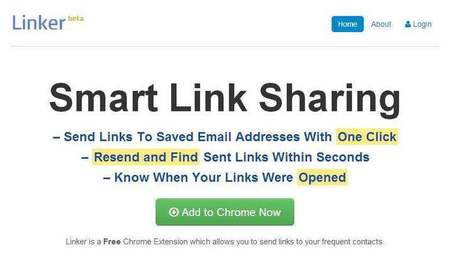 Envoyer d'un clic un lien par mail, Linker | François MAGNAN  Formateur Consultant | Scoop.it