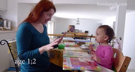 Baby Sign Language: Improves Cognitive and Emotional Development, and Parent/Child Bond • The Raw Food World News | Comunicación No Verbal | Scoop.it