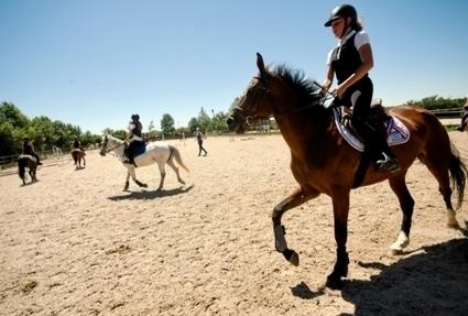Combelles : un paradis de l'équitation | L'info tourisme en Aveyron | Scoop.it