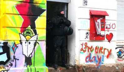 Police raid suspected leftist extremists - The Local.de | The Indigenous Uprising of the British Isles | Scoop.it