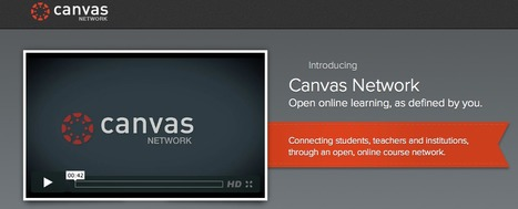 Canvas Network | Massively MOOC | Scoop.it