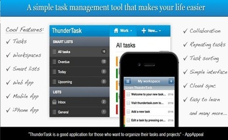 ThunderTask Review – A Task Management Tool for Small Businesses & Freelancers | Editorial Product Reviews | Scoop.it