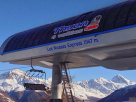 Brand new high speed lift for Les Masses/Les Collons Thyon 2000 on the 4 Vallées Verbier ski system Switzerland | Valais | Scoop.it