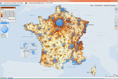 Réaliser des cartes avec Géoclip - Académie de Paris | divers | Scoop.it