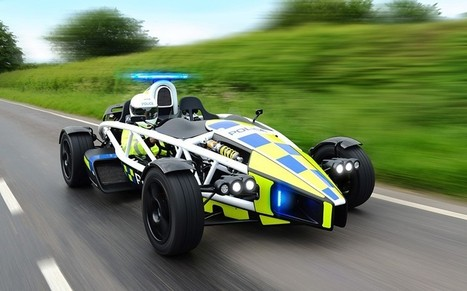 World's fastest police car unveiled - Telegraph | Automobiles | Scoop.it
