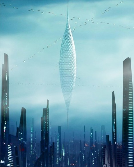 Architects Envision Skyscrapers Hanging From Space Stations - SERIOUS WONDER | Futurewaves | Scoop.it