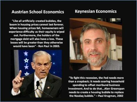 Austrian vs. Keynesian Economics in one picture | Libertarianism | Scoop.it