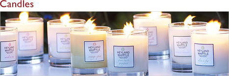 Scented Candles by Heyland & Whittle | Scented candles by Heyland & Whittle | Scoop.it