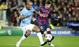 Vincent Kompany admits to gulf between Manchester City and Barcelona - The Guardian | AC Affairs | Scoop.it