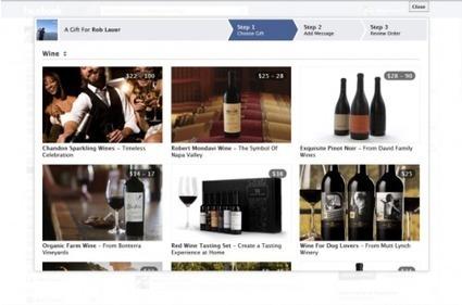 Facebook se lance dans la vente de vin aux Etats-Unis.   Tag 2D & Vins   Scoop.it