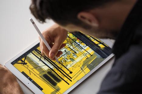 Test Apple iPad Pro (1e partie) : Une bonne tablette mais pas pour ... - LeMondeInformatique   Apple pratique   Scoop.it