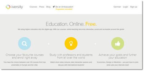 Los cursos más populares de Iversity, la plataforma europea de MOOC | Innovación docente universidad | Scoop.it