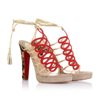 Escompte Christian Louboutin Sandales | shoppingfrench | Scoop.it