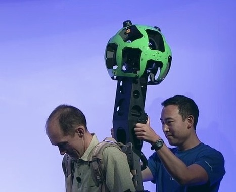 What's next for Google Maps? Check out the Streetview Backpack! | #GoogleMaps | Scoop.it