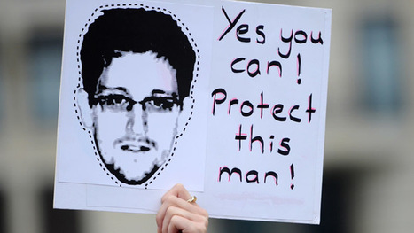 Snowden asylum still under review, stays in airport for now | Saif al Islam | Scoop.it