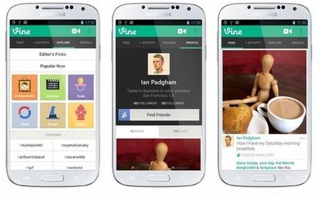 Twitter lanza Vine para Android, con zoom | El Content Curator Semanal | Scoop.it