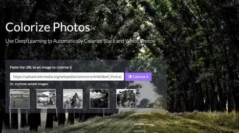 Colorize Photos. Donnez des couleurs à vos photos noir et blanc - Les Outils du Web | Les outils du Web 2.0 | Scoop.it