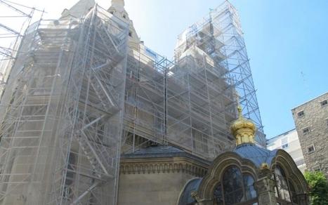 Un nouvel éclat pour la cathédrale russe Saint-Alexandre-Nevsky à Paris | L'observateur du patrimoine | Scoop.it