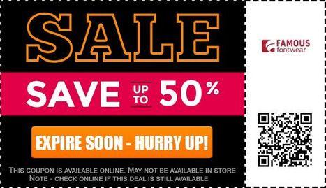 Famous footwear coupons March 2014: Get famous footwear coupons & Coupons for famousfootwear.com | Voucher Deals | Scoop.it