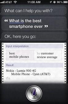 Para a Siri, o Lumia 900 já não é o melhor smartphone de sempre | TecnoCompInfo | Scoop.it