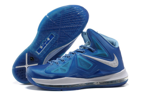 Nike Lebron 10 Blue Diamond White Basketball Shoes - Lebron 10 Blue Diamond | 2012 Fashion Moncler Womens Jackets | Scoop.it